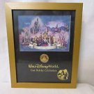 Disney Cast Holiday Celebration Coin Framed Commemorative Print