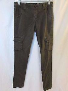 Sanctuary Clothing Womens Modern Military Cargo Skinny Pant Sz 25 Stretch Twill