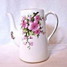 Royal Chelsea Mini Coffee Pot Tea Pot Peach Blossom