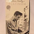Elvis Presley Platinum: A Life in Music boxed set CASSETTES   with Booket