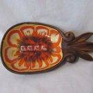 Pineapple Ceramic Ashtray Tobacco 1962 Treasure Craft Compton Calf. Tiki Style