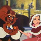 "Beauty and The Beast Print  McGaw Graphic New ""When We Touched"" Disney Art"