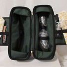 Wine Carrier Insulated Tote NWOT With Accessories Canvas With Strap Traveler