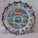 Vintage Oregon Pacific Souvenir Plate Smith Western Made In Japan