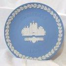 Wedgwood ST. Jame's Place Christmas Plate 1980 Jasperware Classic