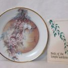 Doves Of Fidelity VTG Plate By John Cheng Birds Of The Temple Gardens #0073A 198