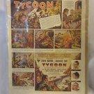 John Wayne The Duke 1947 Movie Ad Tycoon Comic Strip Saturday Evening Post