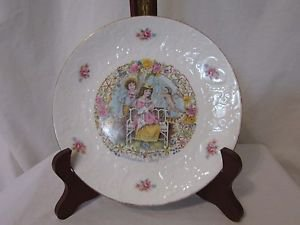 Vintage Royal Doulton Plate MY VALENTINE DAY CUPID & COUPLE 1978