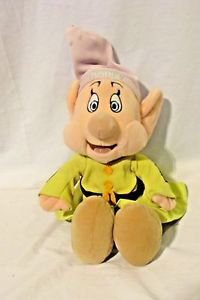 """DOPEY"" Doll Snow White & Seven Dwarfs Stuffed Toy Doll 13"" Disney Medium Plush"