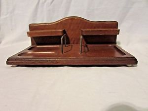 Vintage  Dresser Valet Men's Wooden Organizer Maker Hi Mark