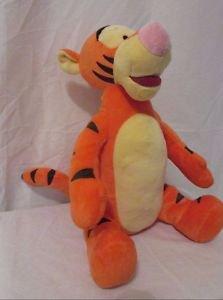 """Tigger 12"""" Toy Plush Winnie the Pooh Toy Tiger Disney Animal Kohl's Cares Velour"""