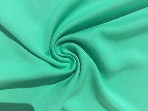 "60"" Turquoise Teal Green Tencel Light Gabardine Twill Woven Fabric By The Yard"