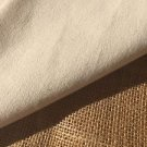 "Italian Ivory 100% Cotton Twill 60"" Wide 10 oz/yard Woven Fabric Wholesale Only"