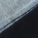 "42"" Oxford Gray Cotton Spandex Stretch Blend Woven Fabric By the Yard"