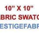 "10"" X 10"" Fabric Swatch for prestigefabric"