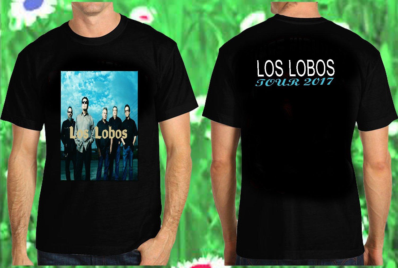 LOS LOBOS TOUR DATES 2017 BLACK SHIRT 5