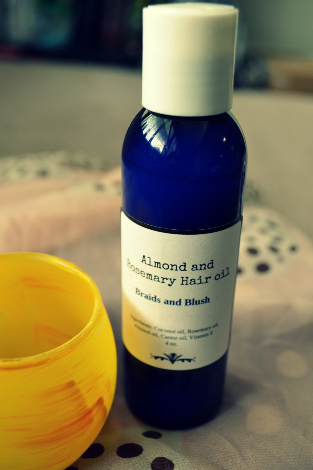 Almond Rosemary Hair Oil Mask - Good for Hair Growth / Deep Condition / No Frizz / Nourishing
