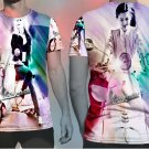 Scooterist T-shirt Full Print Sublimation For Women Size XL