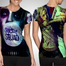 Suicide Squad : Harley Quinn T-shirt Full Print Sublimation For Woman Size S