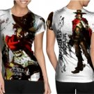 mccree high noon T-shirt Full Print Sublimation For Woman Size S