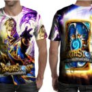 Hearthstone: Heroes of Warcraft Amazing Character T-shirt Full Print For Man Size S