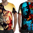 Tupac Amazing Cool Design T-shirt Full Print Sublimation For Man Size S