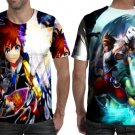 Kingdom Hearts Video Game T-shirt Full Print Sublimation For Man Size S