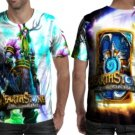 Hearthstone: Heroes of Warcraft T-shirt Full Print Sublimation For Man Size S