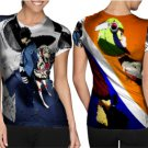 Dimention W Special Character T-shirt Full Print Sublimation For Woman Size M