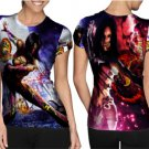 mortal kombat shaolin monks fatality T-shirt Full Print Sublimation For Woman Size M