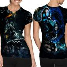 Counter-Strike: Global Offensive T-shirt Full Print Sublimation For Woman Size M