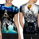 kingdom hearts warriors of light T-shirt Full Print Sublimation For Woman Size M