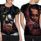 Stranger Things Season 2 Super Bowl T-shirt FullPrint For Woman Size S