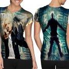 rap singer eminem T-shirt FullPrint For Woman Size S