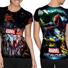 Marvel Heroes crime fighter T-shirt FullPrint For Woman Size S