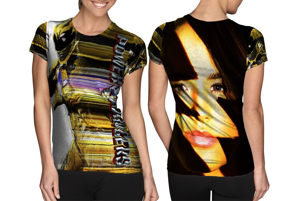 Power Rangers New Version T-shirt FullPrint For Woman Size S