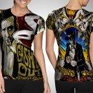 Johnny Cash American Singer-Songwriter T-shirt FullPrint For Woman Size S