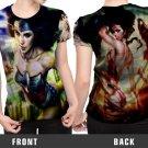 Wonder Woman superhero fiction T-shirt FullPrint For Woman Size S