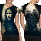 Game Of Thrones Movie #Art2 T-shirt FullPrint For Woman Size M