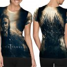 Game Of Thrones Movie #Art3 T-shirt FullPrint For Woman Size M