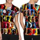 Marvel All Super Hero T-shirt FullPrint For Woman Size M