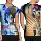 Sanae Kochiya Characters Game #Art1 T-shirt FullPrint For Woman Size M