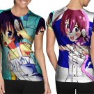 Sanae Kochiya Characters Game #Art2 T-shirt FullPrint For Woman Size M