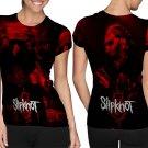 Slipknot Nu Metal Heavy Metal Band #Art2 T-shirt FullPrint For Woman Size M