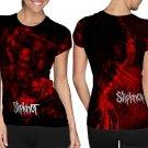 Slipknot Nu Metal Heavy Metal Band #Art3 T-shirt FullPrint For Woman Size M