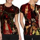 Stranger Things American Science Art 4 T-shirt FullPrint For Woman Size M