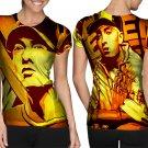 Rap Singer Eminem T-shirt FullPrint For Woman Size M