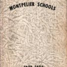 1973 Montpelier Schools Yearbook K~8 Indiana
