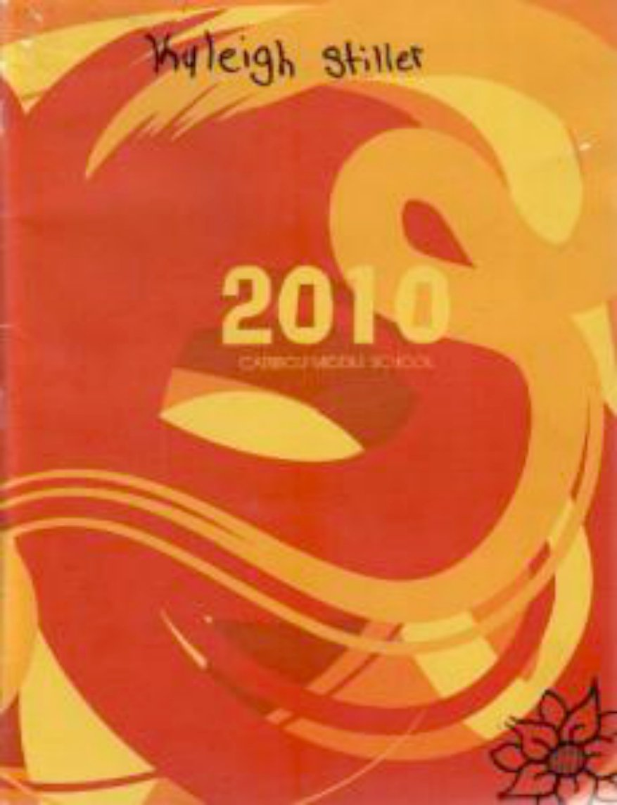2010 Caribou Middle School Vikings Yearbook Caribou Maine