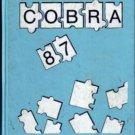 1987 MLK Martin Luther King Jr Junior High School Cobras Yearbook Beltsville Maryland